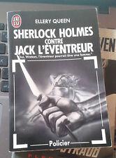 QUEEN Ellery. Sherlock Holmes contre Jack l'Eventreur. J'Ai Lu. 1989.