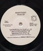 "❗️PROMO EP -7""-METALLICA/VAN HALEN/Yes/Plant/Adams-- Main Event-Perfekt Beat"