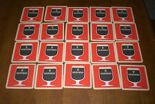 20 GUINNESS RED BEER COASTERS  - VINTAGE