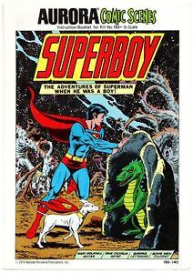 Superboy Aurora Comic Scenes  #186 VF/NM 1974 National Periodical Publications