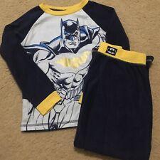 Batman Boys Sleepwear Fleece Kids 2-Piece Pajama Set