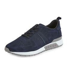 Tod's Men's Trainer US 13 - 14 M (Tods 12) Navy Blue Suede Sneakers Shoes $675