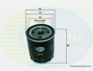 Oil Filter fits FORD FIESTA Mk6 1.2 1.4 1.6 2008 on & FOCUS MONDEO MAZDA 2