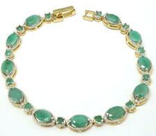 Markenlose Smaragd Echtschmuck-Armbänder
