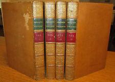 Sherlock's Discourses; Thomas Sherlock; 4 Vol. Set; Leather, 1811; Free Ship