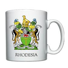 Rhodesian Coat of Arms  - Personalised Mug  -  Rhodesia