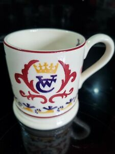 Emma Bridgewater Half Pint Mug - Hurrah for William & Kate 2011 -  New