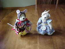 Lot Muffy Vanderbear Dressed Tenth 10Th Anniversary & Muffy Mouse Ltd Ed