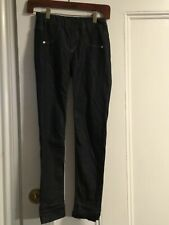 GIRBAUD Pants Black Size 26 Cool Hem