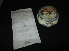 "Rare Ardleigh Elliot Music Box, Tea Party, Coa, Plays ""Memories"" New"