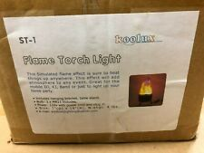 Koolux ST-1 Flame Torch Halogen Effect Light, New in Box, missing flame cloth