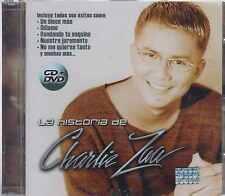 CD/ DVD - La Historia De Charlie Zaa NEW Edicion Especial FAST SHIPPING !