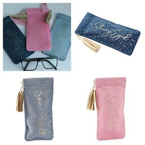 Pretty Snap Top Glasses Case * 4 Designs