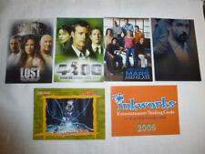 5 Promo cards Inkworks,Lost,Naruto,Veronica Mars,4400 +Season 2 chase card AC-9