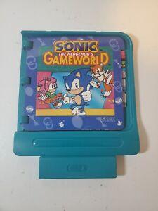 Vintage 1994 Sega Pico Cartridge / Sonic The Hedgehog's Game World