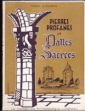 Pierres profanes et dalles sacrées Michel de Galzain Morbihan