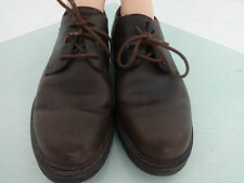 EDDIE BAUER BROWN LEATHER OXFORDS DRESS SHOES SIZE 10.5 M