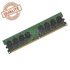 Barrette mémoire pour PC DDR2 PC2-4200U 512MO Dimm 240 broches 533Mhz 8puces