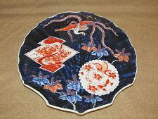 Antique Japanese Imari Porcelain Shell Form Dish Signed