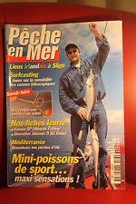 PECHE EN MER N° 193 AOUT 2001  Toutes les techniques de  pêches en eau salée