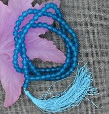 Jewelry 6mm Tibetan Buddhism 108 apatite gem stone Prayer Bead Mala Necklace