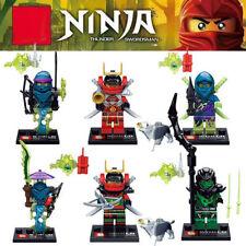 Ninjas Multi-Coloured Building Toys