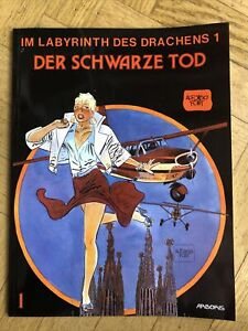 Im Labyrinth des Drachen 1 Der Schwarze Tod Comic 1st Printing 1989