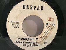 "BOBBY (BORIS) PICKETT Monster Mash / Party 7"" 45 GARPAX 1962 VG- plays well"