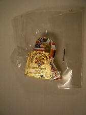 2002 Salt Lake Olympics GOLD MEDAL RINGER COWBELL Pin