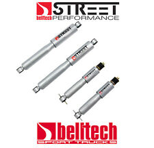 96-04 Toyota Tacoma Street Performance Front/Rear Shocks for 2/3 Drop