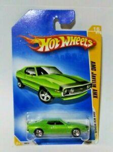 2009 Hot Wheels #16 New Models 16/42 AMC JAVELIN AMX Green Variant w/Chrome 5 Sp