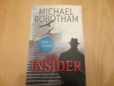 Der Insider / Joe O'Loughlin & Vincent Ruiz Bd.6 von Michael Robotham TB gut Zus