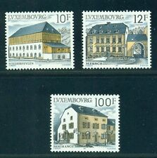Luxembourg 1987 Rural Architecture Sc 775-777  MNH