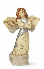 """Elements 5.5"""" Angel Figurine """"Warm Wishes"""" Angel #82108 from Pavilion Gift"""