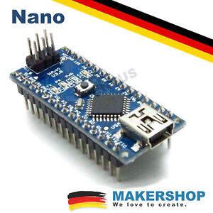Nano ATmega328 V3.2 Board CH340 USB Chip Arduino Kompatibel