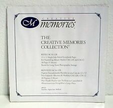 NEW! Creative Memories 12 X 12 SINGLE SIDE RULED Scrapbook Pages RCM-12R