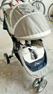 Single Seat Pushchair Baby Jogger CITY Mini Silver/Black