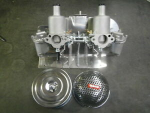 "rebuilt as new twin HS2 1¼"" SU carbies MG Midget Austin Healey Sprite"