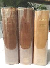 TRANS HIMALAYA. Sven Hedin. 1909-1913. All Three Volumes in VGC. Very rare set.