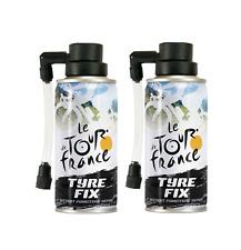 Le Tour de France TDF Bike Tyre fix kit - Instant puncture repair 2 x 200ml