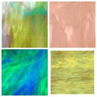 Spectrum Stained Glass Plates (approx. 20x30cm) **Large Choice of Colours**