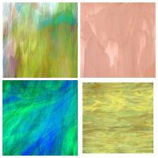 Spectre Coloré Plaques de verre (env. 20x30cm) ** Grand choix de couleurs **