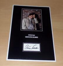 Peter Falk *Columbo*, original signed Collage Photo 20x30 (8x12)