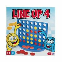Traditional Line Up 4 Board Game Connect 4 Style Classic Kids Family Gift