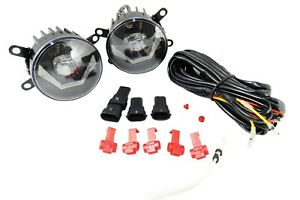Klarglas LED Nebelscheinwerfer mit Tagfahrlicht 12V E-Prüfzeichen