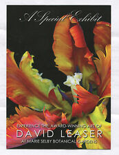 PHOTOGRAPHIC ART OF DAVID LEASER AT SARASOTA'S MARIE SELBY BOTANICAL GARDENS *