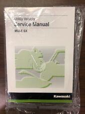 "Kawasaki Mule Sxâ""?Service Manual - Fits 2017-2020 - Genuine Kawasaki - Brand New (Fits: Kawasaki)"