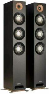 Jamo S 809 Floorstanding Dolby Atmos Ready Speakers, Black, Pair