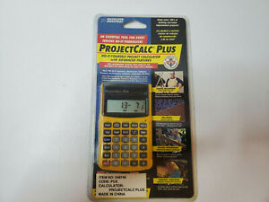 Calculated Industries 8525 ProjectCalc Plus Calculator Yellow Brand NEW