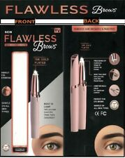 Flawless Brows Eyebrow Facial Hair Remover Trimmer Rose Gold *NEW With Box*